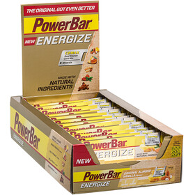 PowerBar New Energize Riegel Box Original Vanilla Almond 25 x 55g